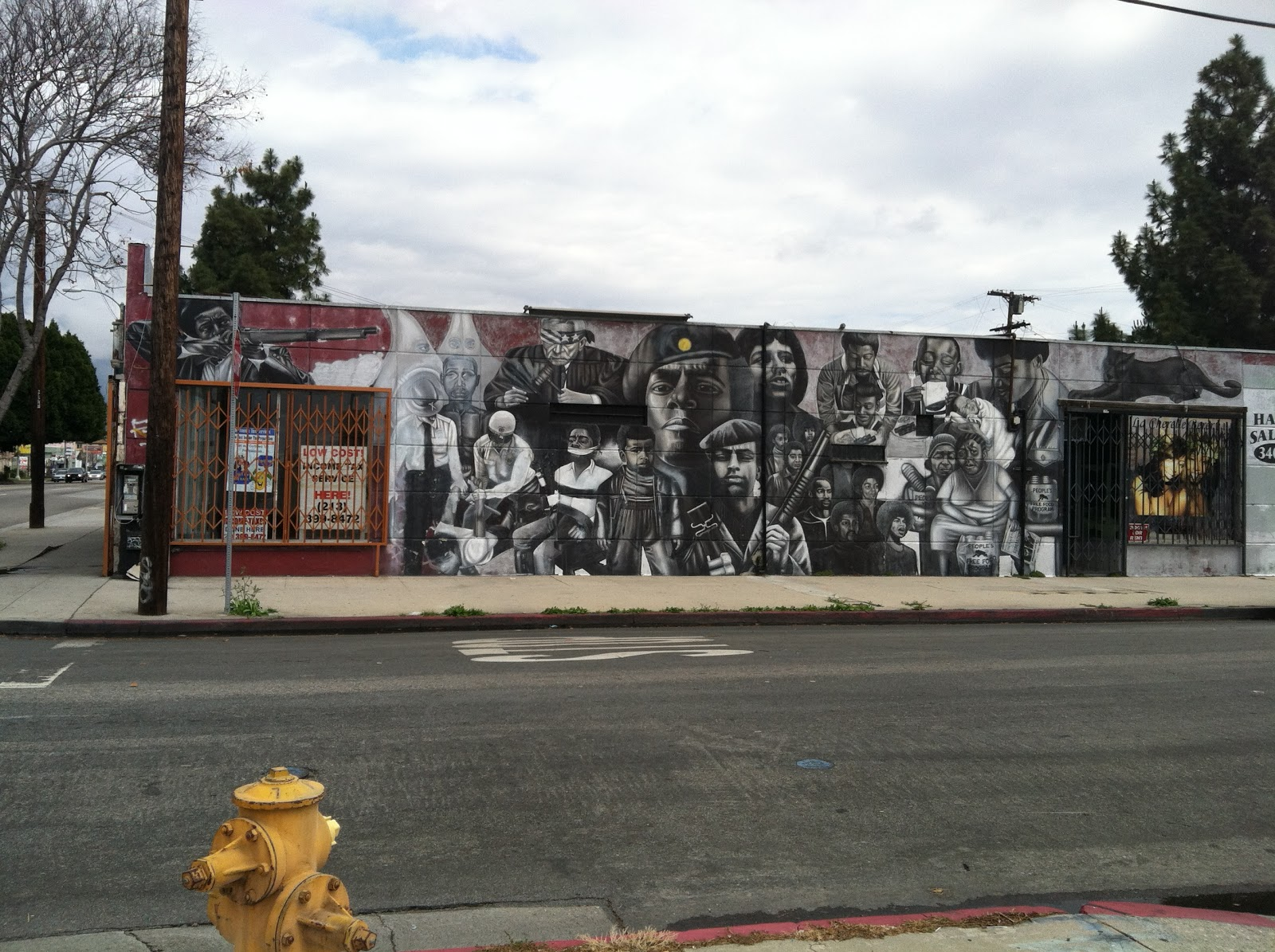 The delighted observationist graphic la murals and for Mel s fish shack