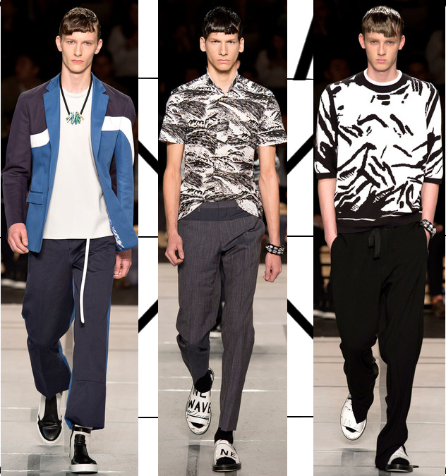 kenzo mens spring 2014 graphic shirts and sweaters