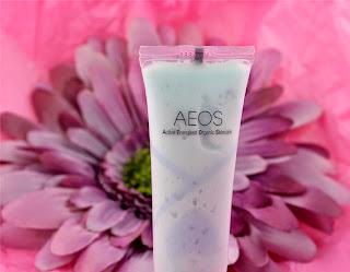 AEOS Blue Gentle Exfoliant - exfoliate - facial skincare - skincare - review - swatch