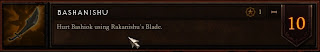 Rakinishu Blade Achievement