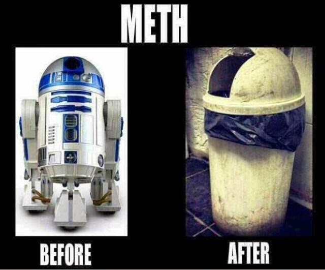 Star Wars R2-D2 on meth