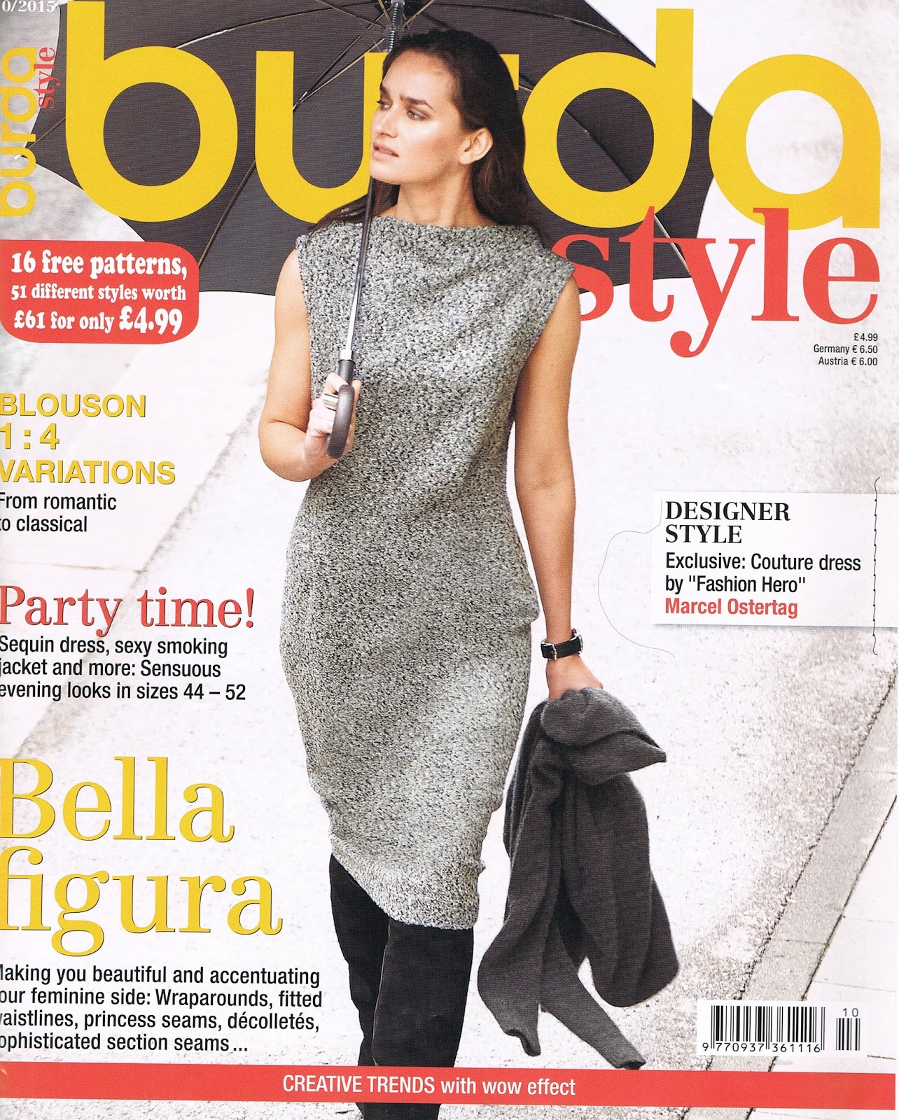 Smf designs and friends burda style october 2015 Fashion style october 2015