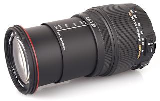 lensa DSLR 18-200mm