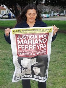 NELLY NÚÑEZ, ESPOSA DE PAPELERO, TAMBIÉN QUIERE JUSTICIA POR MARIANO