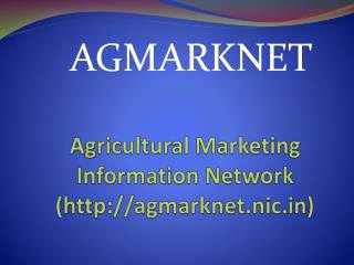 AGRICULTURAL MARKETING INFORMATION NETWORK