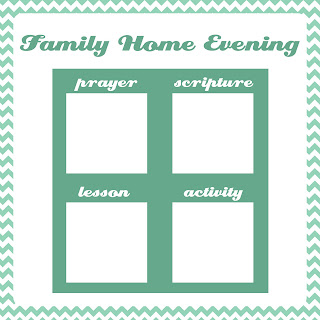 a year of fhe family home evening charts option 2