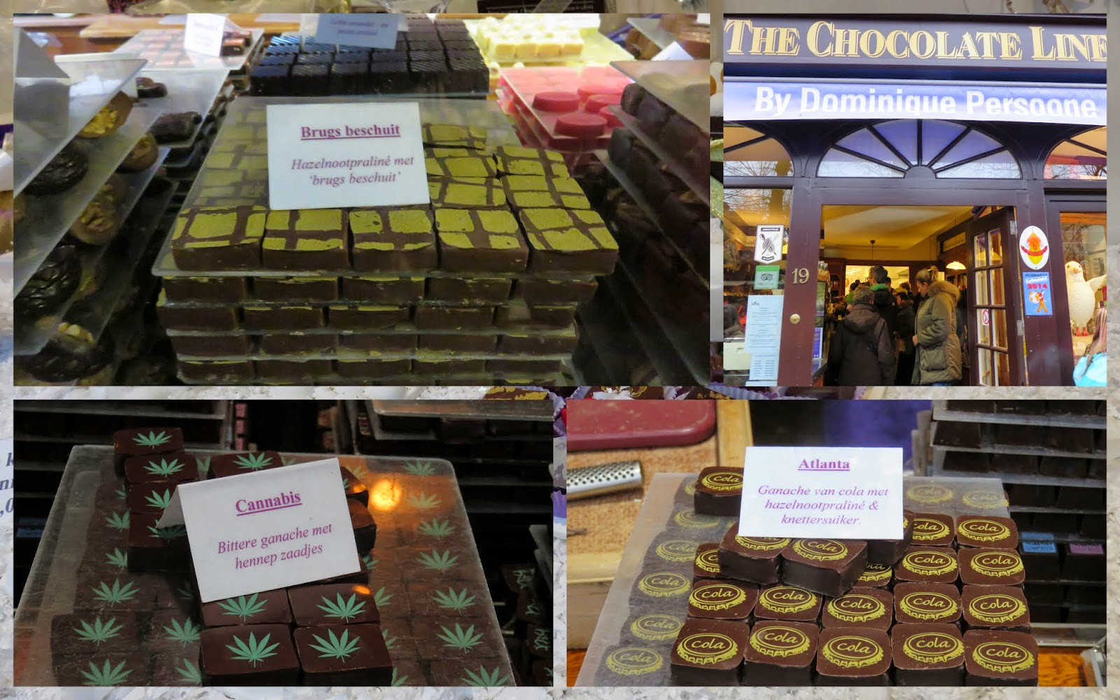 The Chocolate Line in Bruges