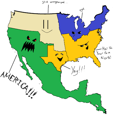 a comparison of slavery in the united states and mexico The compromise of 1850 attempted to settle this issue by admitting california as  a free state but allowing slavery in the rest of the mexican cession.