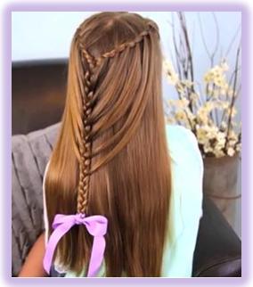 Peinados Elegantes Para Nina Pelo Largo Peinados De Moda