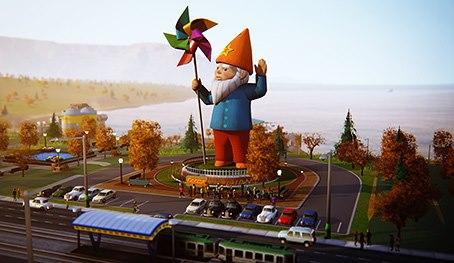 DLC в SimCity - парк развлечений