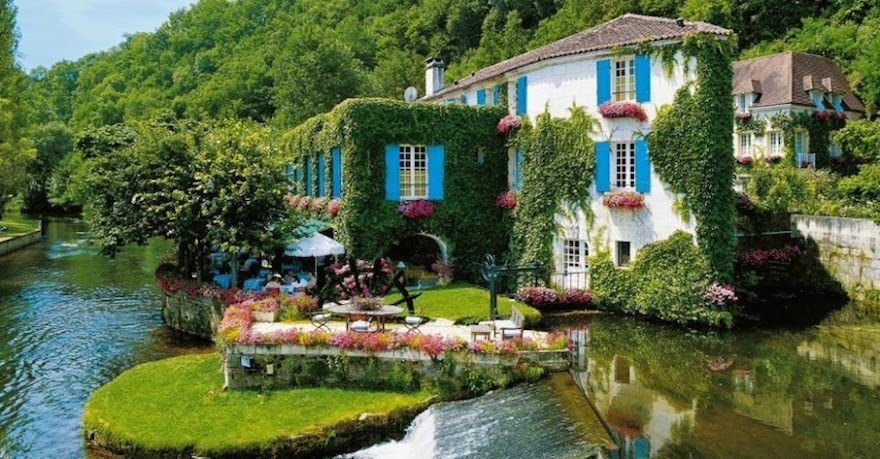 Hotel Moulin de Roc, France - 19 Lesser-Known Travel Destinations To Visit Before You Die