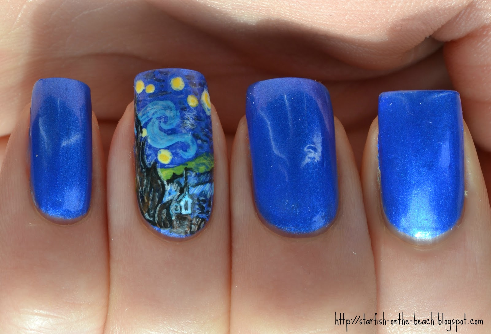 Starfish on the Beach: 31 Day Nail Art Challenge --- Day 27, Artwork ...
