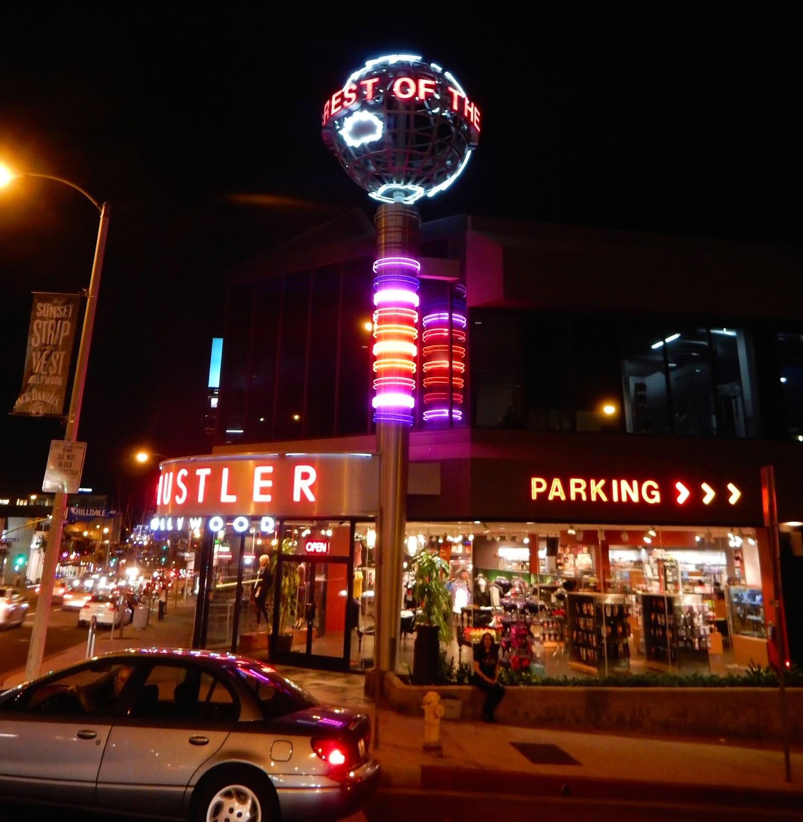 Hustler Hollywood Sunset Strip West Hollywood Ca