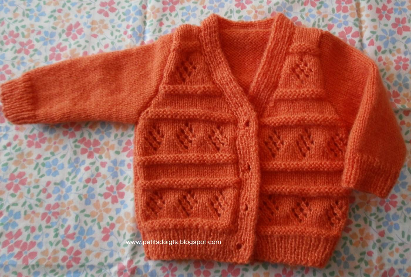 Petits doigts octobre 2012 - Les points au tricot ...