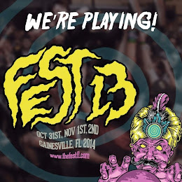 We're playing Gainesville Fest 13!