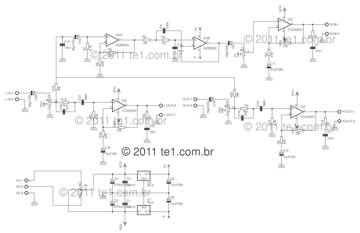 Audio Power Amplifier Circuit Diagram on B Boost Circuit Diagram