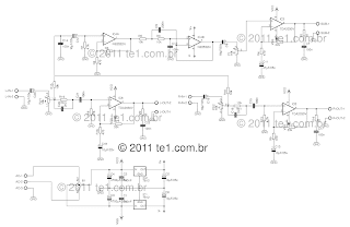 World technical circuit power audio amplifier with tda2030 21 tda2030 21 schematic of the power amplifier click to enlarge the diagram publicscrutiny Choice Image