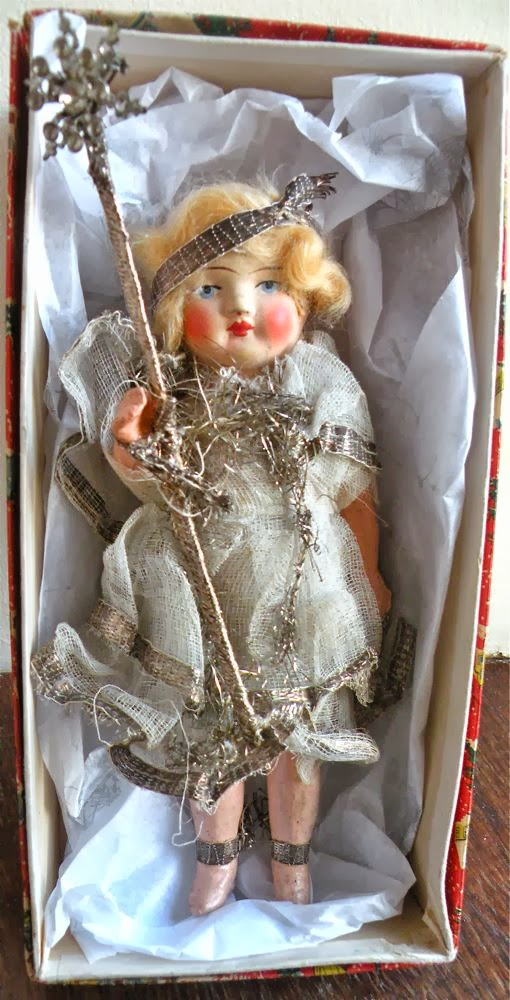 Antique Christmas Fairy