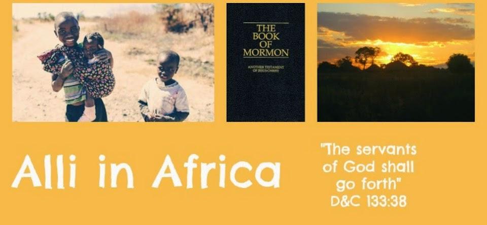 Alli in Africa
