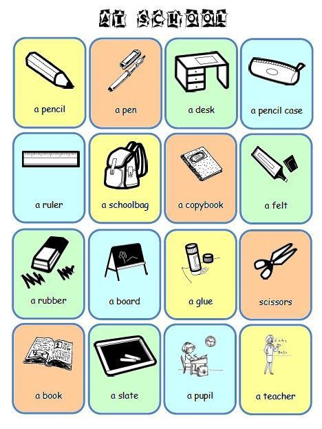 Assez école : références: Flashcards et imagiers anglais au primaire QL55