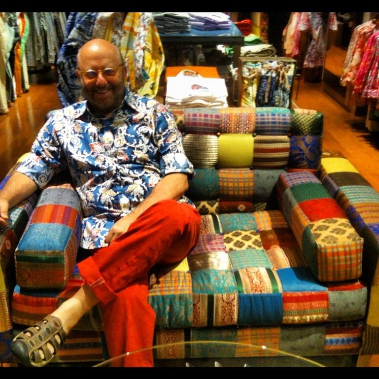 Robert Stock, founder and designer of Robert Graham ... Robert Graham Designer