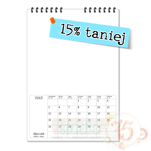Kalendarze 2015 w super cenie! / Calendars 2015 !