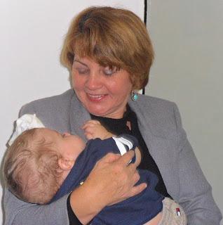 Tia Wanda e seu netinho do coração
