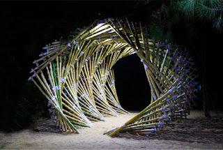 Ola de Bambu, Arte y Ecoresponsabilidad