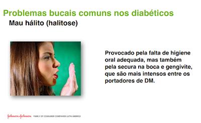 mau hálito, diabetes, doenças comuns