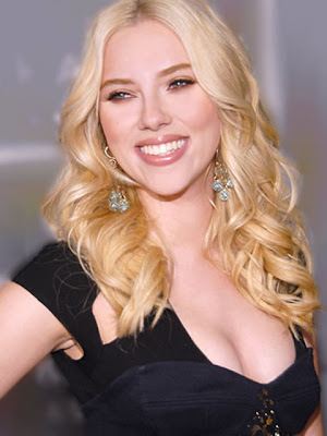 Scarlet Johansson Diamond Chandelier Earrings