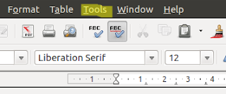 Libreoffice tools
