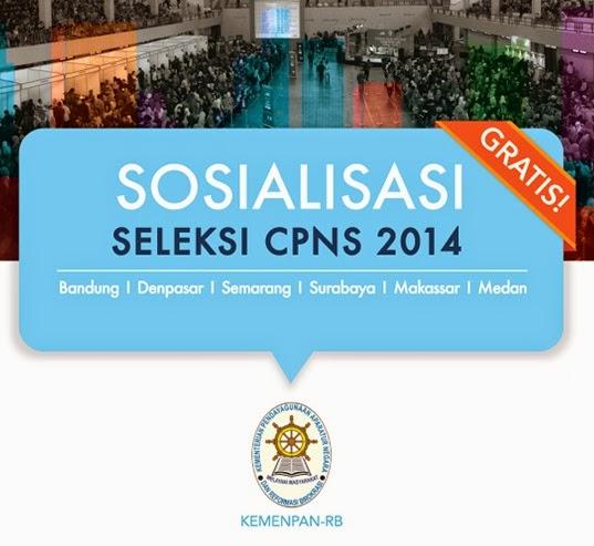 http://daftarlowongankerjajawabarat.blogspot.com/2014/07/sosialisasi-seleksi-cpns-2014.html