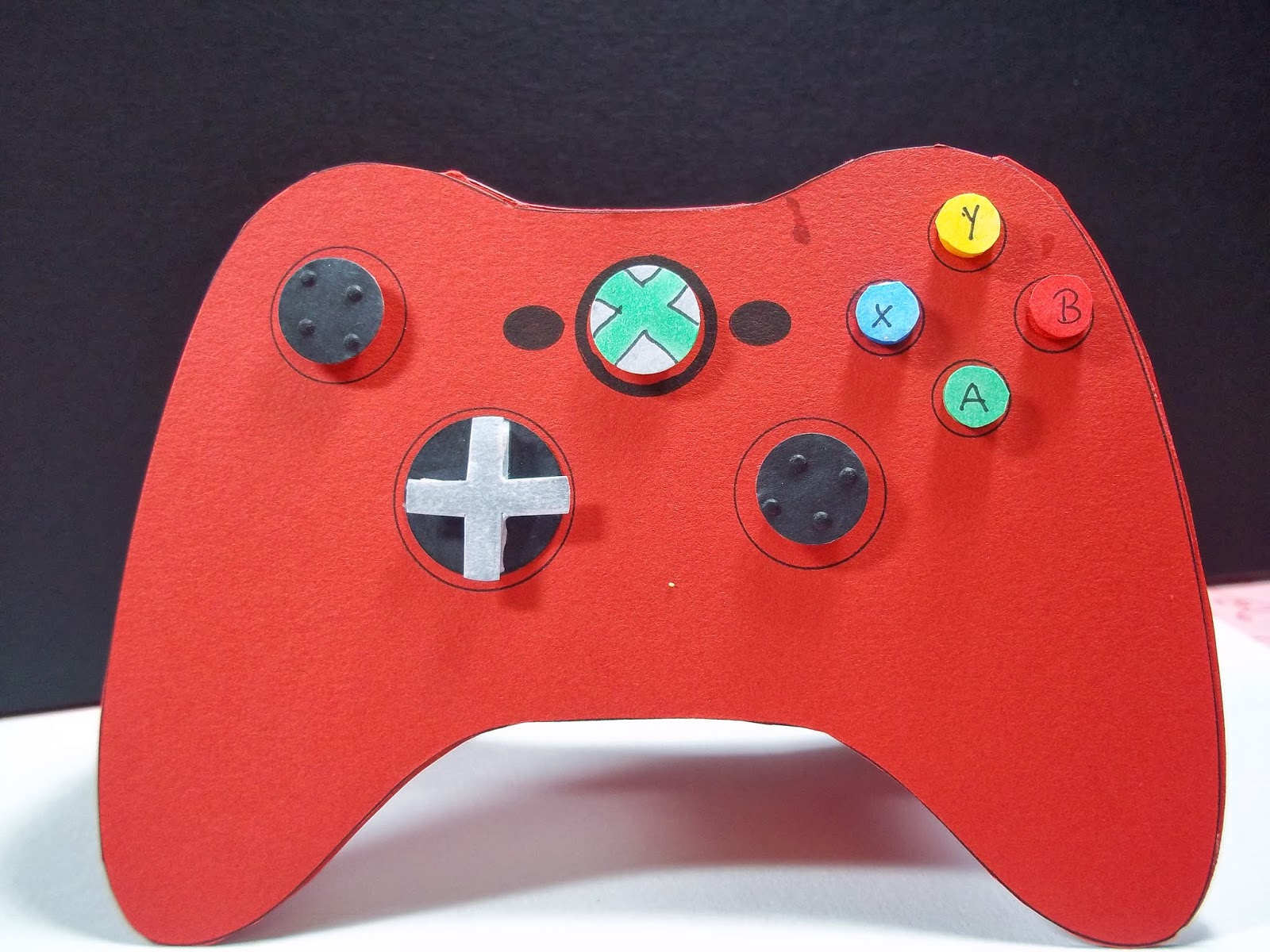 Crafty Creations By Niki Xbox 360 Gane Controller Birthday Card