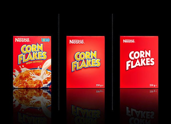 Nestle Corn Flakes Bared Packaging