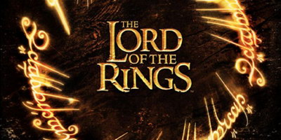 The Lord of the Rings The Motion Picture Trilogy Movie Poster.