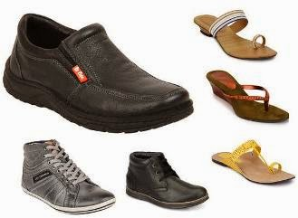Flat 50% Off on Lee-Cooper & Gas Footwear and Buy 1 Get 1 Free Offer on Women's Z-Collection Footwear at Jabong (Expired)
