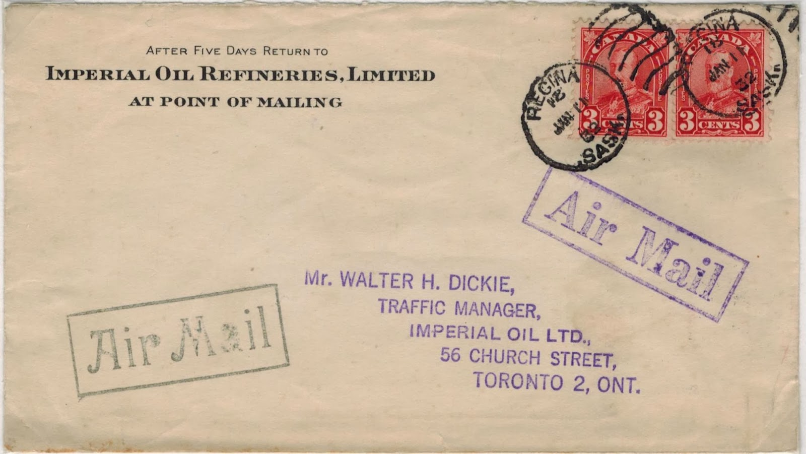 Postal History Corner Domestic Air Mail Letter Rates