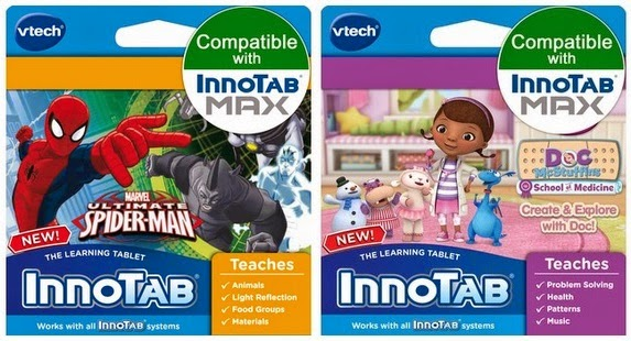 VTech InnoTab cartridge giveaway