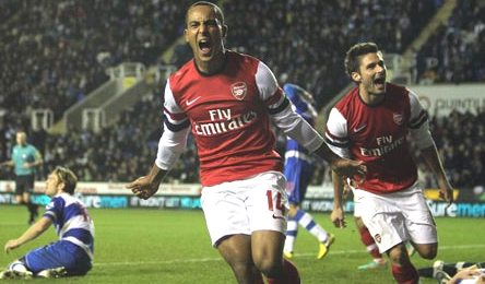 Prediksi Reading vs Arsenal eighteen Desember 2012 | Agen Bola