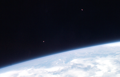 UFO's Caught Flying Towards Astronauts 2015, UFO Sightings