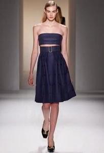 Tendencias 2014 en vestidos de noche: pliegues