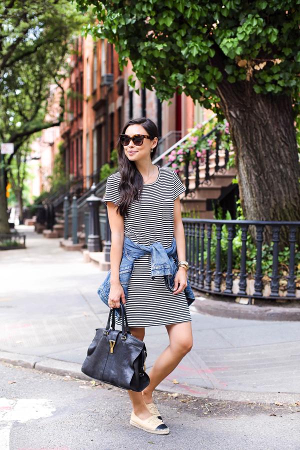 Bella colección de vestidos | Rayas con estilo