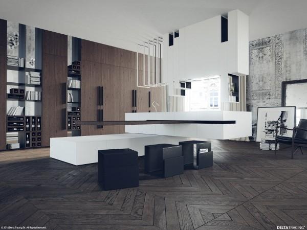 Kitchen Set Nuansa Hitam Putih Archives Viku Furniture Bandung