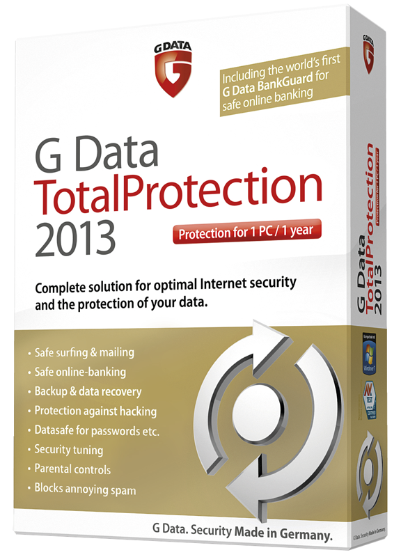 G DATA Antivirus - Internet Security Full 2018 Serial