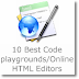 10 Best Code playgrounds/Online HTML Editors for developers