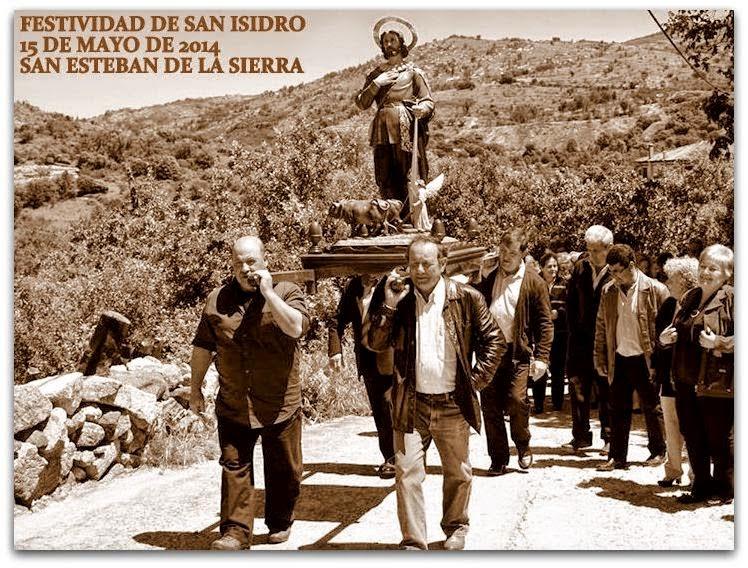 15/mayo. Festividad de San Isidro. San Esteban de la Sierra