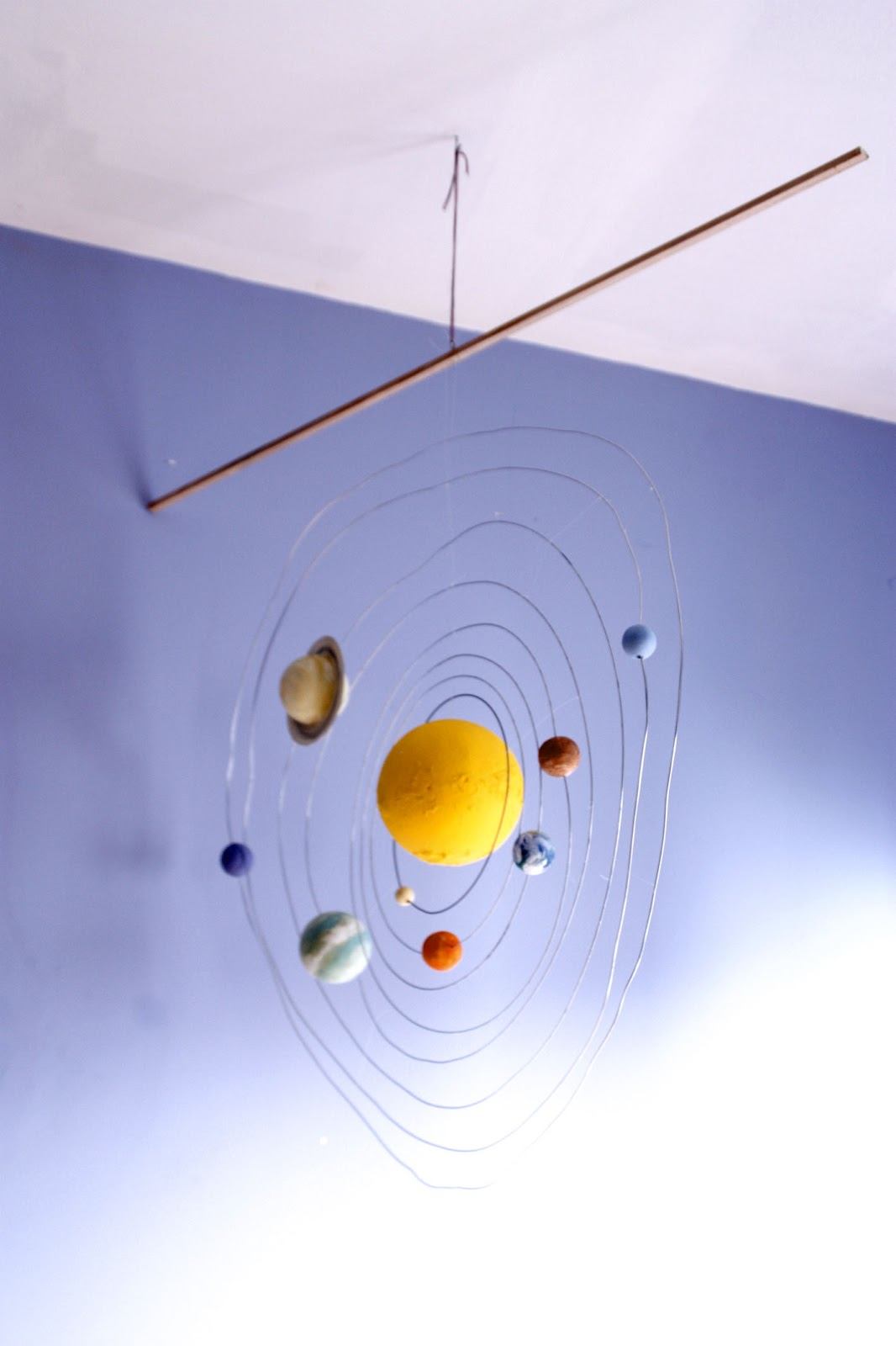 Solar System Mobile DIY