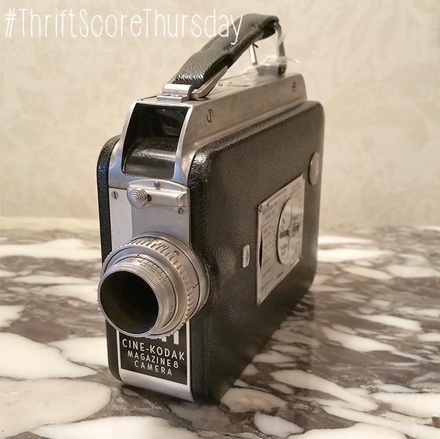 #thriftscorethursday Week 49 Cine-Kodak Magazine 8 Camera | www.blackandwhiteobsession.com
