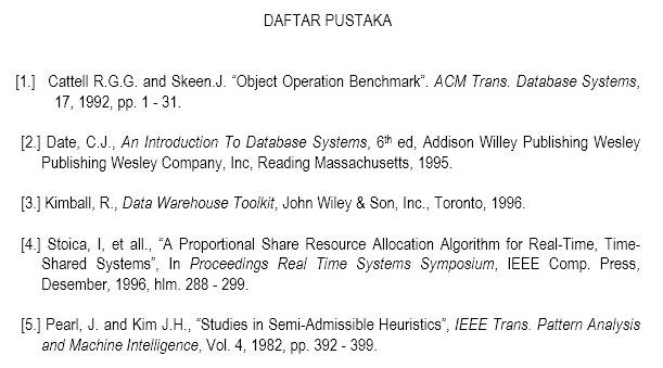membuat daftar pustaka dari file pdf penulisan daftar