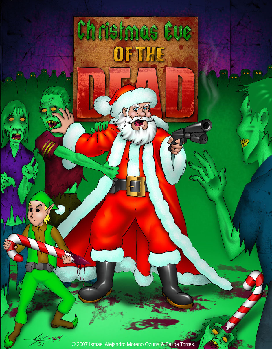 Christmas Eve of the Dead by IAMO